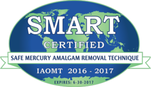 SMART certification (safe mercury amalgam removal technique) logo